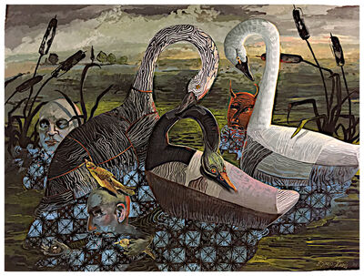 Eleanor Spiess-Ferris, 'The Devil is in the Decoys', 2018