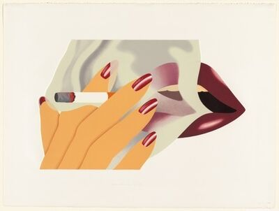 Tom Wesselmann, 'The Smoker', 1976