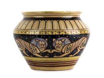 Rosati, 'Vase with lions'