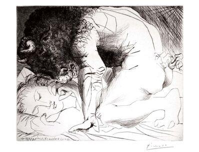 Pablo Picasso, 'Minotaure caressant du Mufle la Main d'une Dormeuse (S.V. 93) ', 1933
