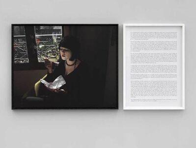 Sophie Calle, 'Écrivain, Performeuse Chloé Delaume / Writer Chloé Delaume - Prenez soin de vous', 2007