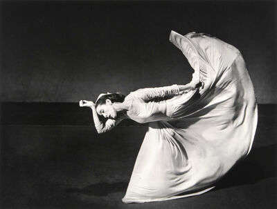 Barbara Morgan, 'Martha Graham, Letter to the World (Kick)', 1941/1980c
