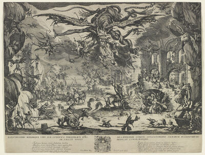Jacques Callot, 'The Temptation of St. Anthony', ca. 1634