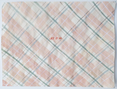 Julia Kuhl, 'Domestic Textiles Series, Let It Go', 2019