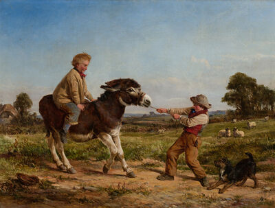 Haywood Hardy, 'Stubborn', 19th Century