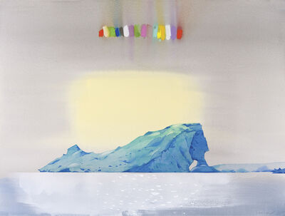 Scott Kelley (b. 1963), 'Abbott's Rainbow, Antarctica'