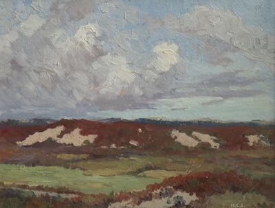 Houghton Cranford Smith, 'October Dunes, Provincetown', ca. 1908