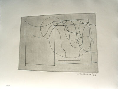 Ben Nicholson, 'flowing forms', 1967