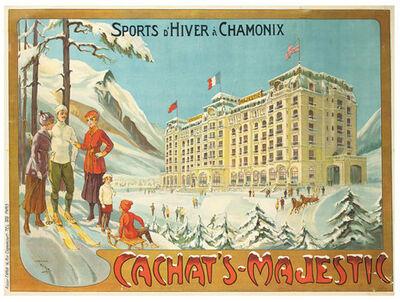Candido Aragonez de Faria, 'Sports d'Hiver à Chamonix, Cachat's Majestic', 1920
