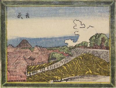 Katsushika Hokusai, 'Yoshiwara', ca. 1802
