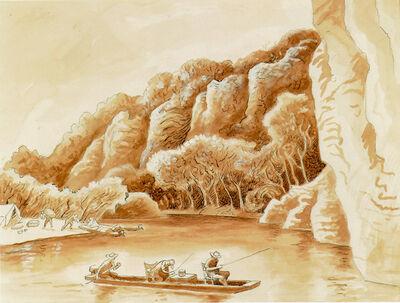 Thomas Hart Benton, 'Study for Jon Boat', ca. 1964