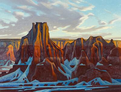 Ed Mell, 'Ha-Ho-No-Geh Canyon', 1990