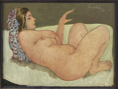 William Crosbie, 'Reclining Nude', 1969