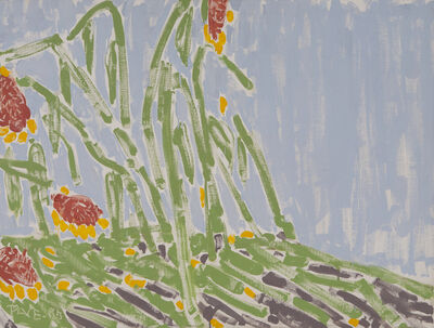 Stephen Pace, 'Sunflowers', 1985
