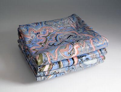 Margie Livingston, 'Folded Painting with Blue and Orange', 2014
