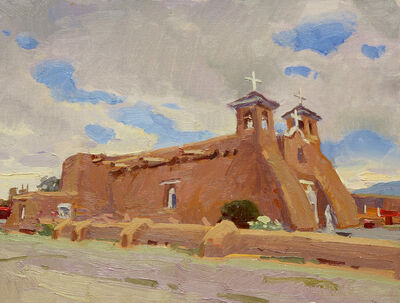 "Scott Burdick, '""San Francisco de Asis Mission Church"" ', 2018"