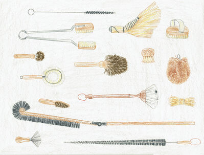 Chan Ka Yee, 'Brushes', 2017