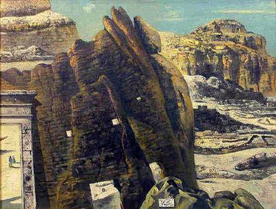 Eugene Berman, 'Paesaggio Tebano', 1964