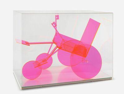 Renate Bertlmann, 'Rollstuhlbaukasten (rot) ', 1975