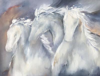 Melanie Warsinske, 'White Horses', 2018