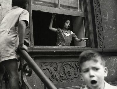 Helen Levitt, 'N.Y.C. (girl in window)', ca. 1942