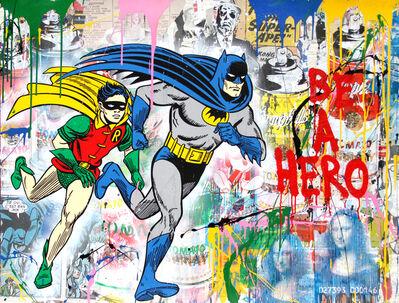 Mr. Brainwash, 'Batman & Robin ', 2018