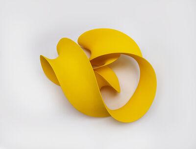 Merete Rasmussen, 'Fluent Yellow (Wall)', 2020