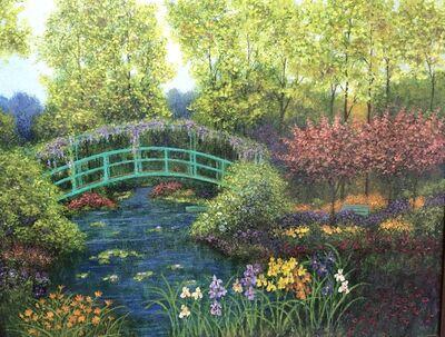 Patrick Antonelle, 'Monet's Garden & Bridge, Giverny', 2009