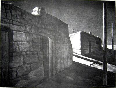 Su Xinping 苏新平, 'Silent Town - 2', 1991