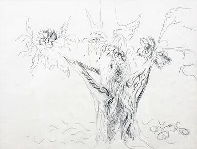 Charles Ephraim Burchfield, 'Strong Chestnut Tree: (Study for Autumn to Winter)', 1964