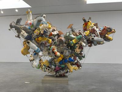 Nancy Rubins, 'Our Friend Fluid Metal, Spiral Ragusso (View 1)', 2013