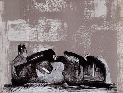 Henry Moore, 'Reclining Figure Interior Setting I', 1977