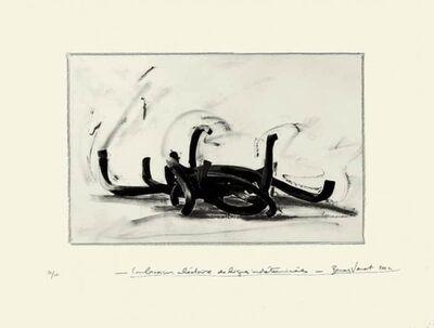 Bernar Venet, 'Combinaison Aléatoire Des Lignes Indéterminés', 2004