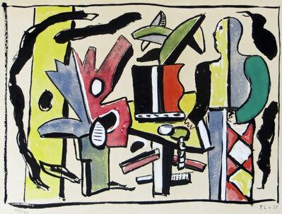 Fernand Léger, 'L'Artiste dans le Studio from Douze Contemporains', 1959 (original 1938)