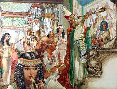 Willy Pogany, 'Nero's Temple On The Nile', 20th Century