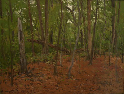 Eugene Leake, 'Red and Green Turner Woods', 1982