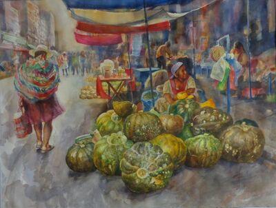Benjamín Lafuente, 'Pumpkin seller', 2018