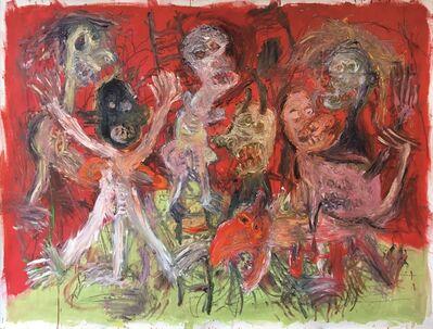 Julien Wolf, 'Parnassus madness', 2018