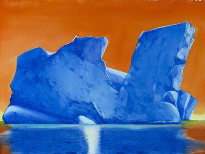 Scott Kelley (b. 1963), 'Dusk, Arthur Harbor, Antarctica'