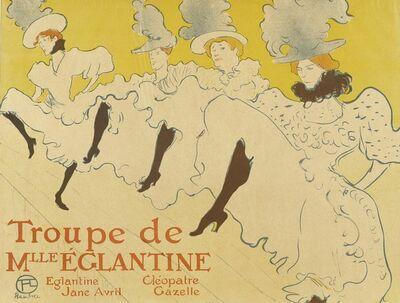 Henri de Toulouse-Lautrec, 'La troupe de Mlle Eglantine', 1896