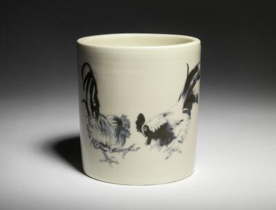 Roger Law, 'Chicken Brush Pots', 2021
