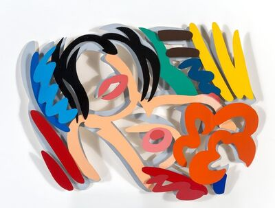 Tom Wesselmann, 'Maquette for Big Blonde (Double Layer) (3-D)', 1990