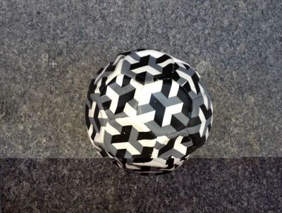 Felipe Barbosa, 'Cubic ball', 2011
