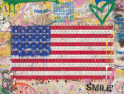 Mr. Brainwash, 'AmeriCan Dream', 2020