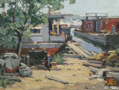 Walter Farndon, 'Dockside', 19th -20th Century