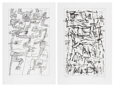 Jan Schoonhoven, 'T85-3, 1985; T89-35, 1989'