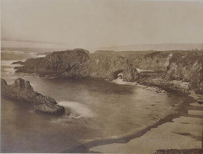 Carleton E. Watkins, 'Mendocino Coast', 1863