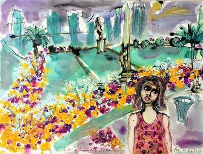 Norma de Saint Picman, 'Souvenirs de Paris - L'enfance, Jardin de Luxembourg, Voulissa Marguerite', 2003