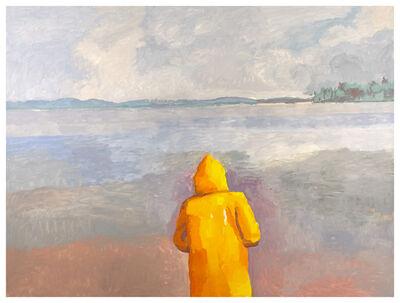 Graham Nickson, 'Maine Grey: Yellow Jacket', 2017