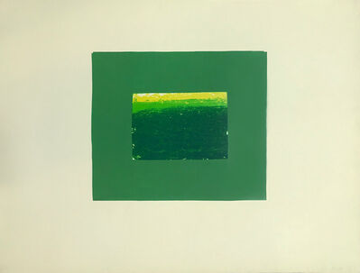Howard Hodgkin, 'Indian Views – Plate K', 1971
